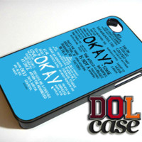 THE FAULT IN OUR STARS iPhone Case Cover|iPhone 4s|iPhone 5s|iPhone 5c|iPhone 6|iPhone 6 Plus|Free Shipping| Delta 387