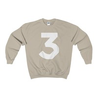 Chance The Rapper 3 Logo Crewneck Sweatshirt