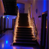 4 M Waterproof String Lights  8 Modes of  flashing for outdoor lawn /wedding/indoor decoration Lamps Party Lights Christmas Tree Fairy Colorful String