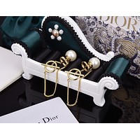 dior woman fashion accessories fine jewelry ring chain necklace earrings