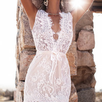 Lurelly Sicily Floral Lace Dress