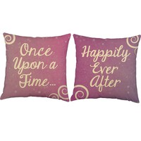 Once Upon A Time Fairytale Throw Pillows