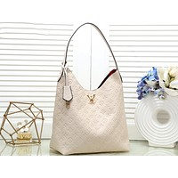 LV Tide brand classic presbyopic embossed women's handbag shoulder bag beige