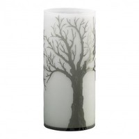 Cyan Designs Medium Alley Vase in Acid White and Smoke - 01837 - Vases - Decorative Accents - Decor