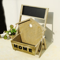 Wooden Style Home Storage Decoration Box [6256365702]