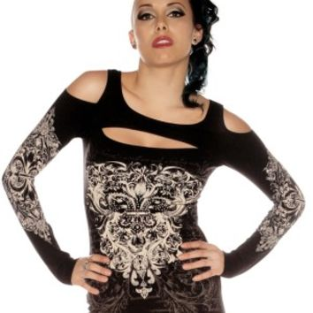 Folter Clothing Cut Out Top