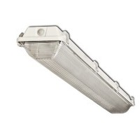 Howard Lighting VSA4A232ASEMV000000I 2-Lamp Vapor Proof Fluorescent Strip Impact Resistant Acrylic Lens