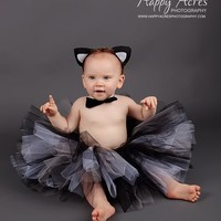 Cat Costume 4 Pieces | From Bows To Toes