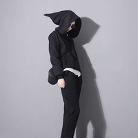 Pointed Witch Hat Hoodie