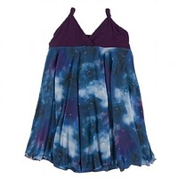 Kickee Pants Print Spaghetti Strap Dress Astronomy & Chemistry Collection