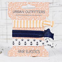 Anchor and Stripe Hair Bands - Urban Outfitters