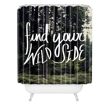 Leah Flores Wild Side Shower Curtain