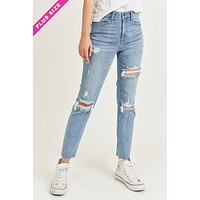 Deena Relaxed Fit Skinny -VOLUME