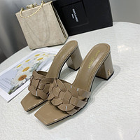 ysl women casual shoes boots fashionable casual leather women heels sandal shoes 111
