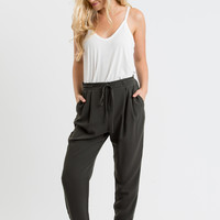 Stacey Olive Pants by LUSH