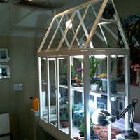 Incredible Custom Indoor Greenhouse - One of a kind