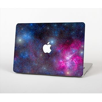 "The Pink & Blue Galaxy Skin Set for the Apple MacBook Pro 13"" with Retina Display"