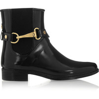 Burberry Shoes & Accessories - Glossed-rubber rain boots
