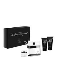 Salvatore Ferragamo F by Ferragamo Pour Homme Black Fall Set