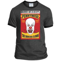 Stephen King's IT Pennywise The Dancing Clown - Ringer Tee