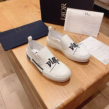 dior fashion men womens casual running sport shoes sneakers slipper sandals high heels shoes 68