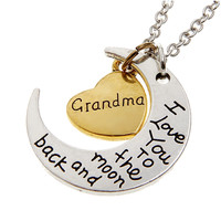 Would You Like To Add A Moon & Back Necklace?