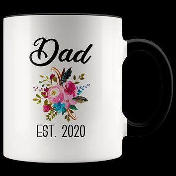 New Dad Mug Expecting Daddy to Be Gifts Baby Shower Gift Pregnancy Announcement Coffee Cup Dad Est 2020