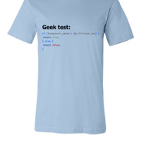 Ultimate Geek Test - Unisex T-shirt