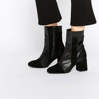 Warehouse Patchwork Boot