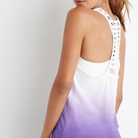 Ladder Back Ombré Tank