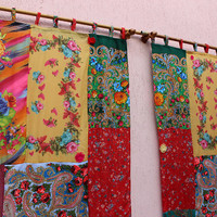 Scarves Curtain Hippie Panel Boho Gypsy Curtain Ready To Ship EXPRESS Shipping
