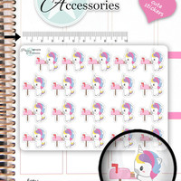 Happy Mail Stickers Happy Mail Planner Stickers Kawaii Unicorn Stickers Planner Stickers Kawaii Stickers Erin Condren  NR1579