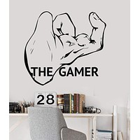 Vinyl Wall Decal Gamer Gaming Video Game Playroom Gift for Teen Stickers Unique Gift (ig3441)
