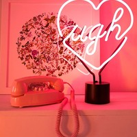 Ugh Neon Sign Table Lamp | Urban Outfitters