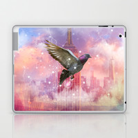Lights Will Guide You Home - Color (City Lights Series) Laptop & iPad Skin by soaring anchor designs ⚓
