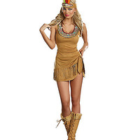 Queen of the Tribe Adult Womens Costume - Spirithalloween.com