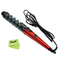 Electric Ceramic Magic Hair Styling Tools Professional Hair Curler Curling Iron Hair Rollers Wand Curler 110-240V 2M Cable 6263
