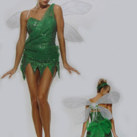 Halloween costumes for women elf TinkerBell Princess dress Elves skirt Flower Fairy cosplay TinkerBell costume adult clothes