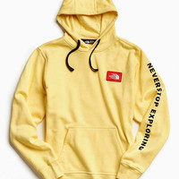 The North Face Patch Hoodie Sweatshirt - Urban Outfitters
