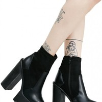 Karmen Cleated Sock-Fit Ankle Boots