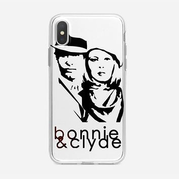 Bonnie And Clyde Logo iPhone XS Max Case