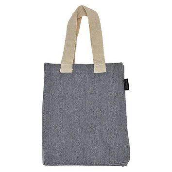 Recycled Canvas Tote Bag, 10-Inch