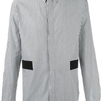 Givenchy Striped Block Panel Shirt - Apropos The Concept Store - Farfetch.com