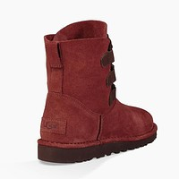 UGG Women Leather Shoes Boots Winter Short Boots Shoes