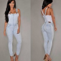 women s jeans supender jeans overalls denim jeans 2781