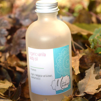 Organic Vanilla Body Oil