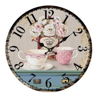 Vintage Antique Home Bedroom Retro Wall Clock