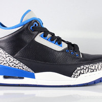 Air Jordan Men's 3 III Retro Sport Blue