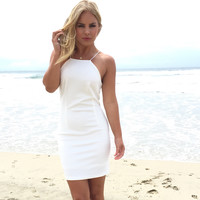 Wild At Heart Dress In White