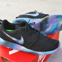 Hand Painted Galaxy Nike Roshe Run